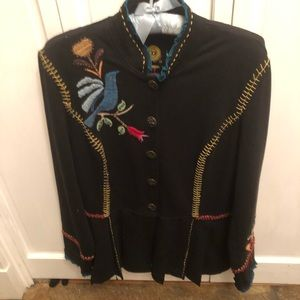 Double D Ranch Embroidered Jacket